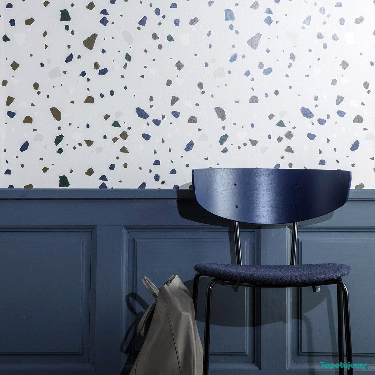 Tapeta Ferm Living Terrazzo Lastryko Lastriko Grey 179