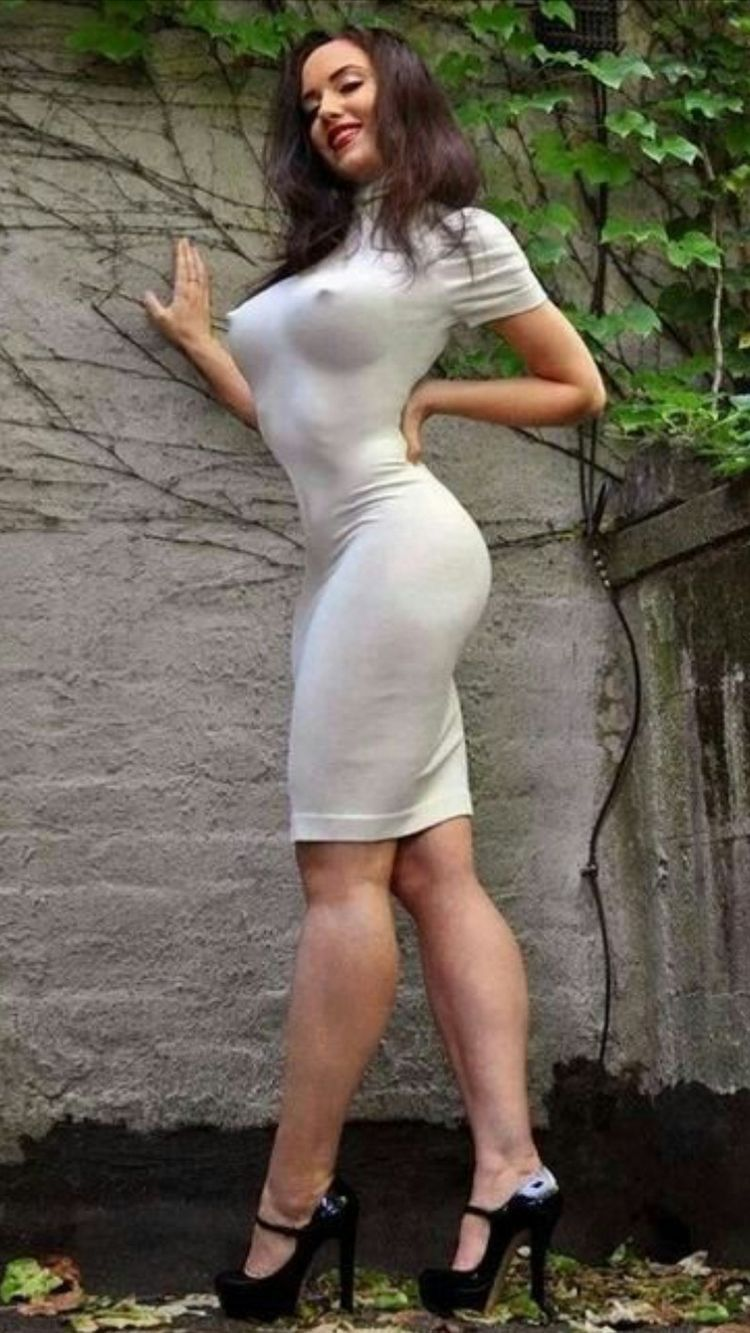 Sexy girls big boobs in tite dress fucked