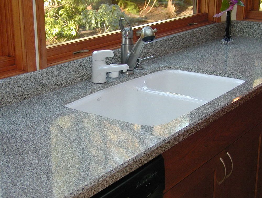 Wonderful Laminate Countertops And Backsplash Ideas Part - 9: Laminate Countertops With Undermount Sink