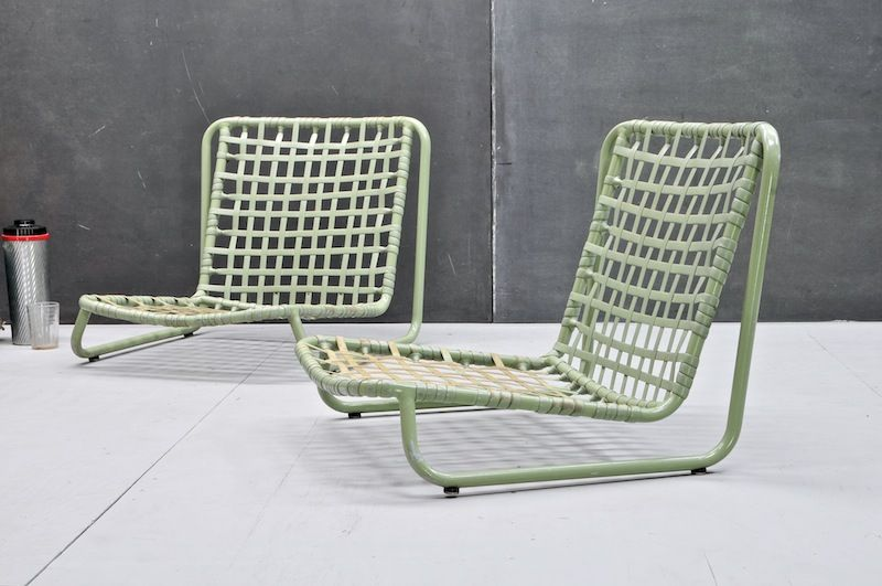 Surprising Brown Jordan Low Slung Poolside Chairs 20Th Century Vintage Andrewgaddart Wooden Chair Designs For Living Room Andrewgaddartcom