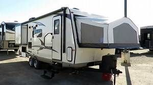 Pin By Meg Gagner On Camping Hybrid Camper Forest River Rv