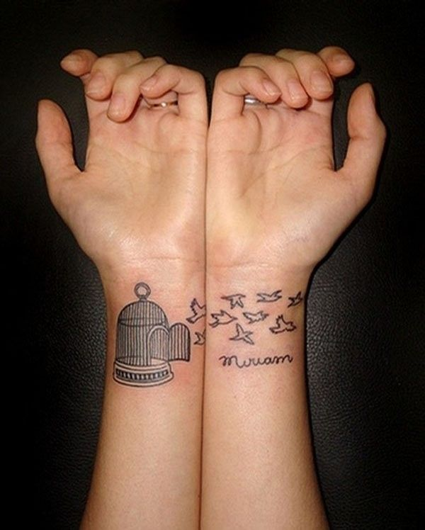 100 Best Matching Tattoos Ideas for Inspiration | Matching tattoos ...