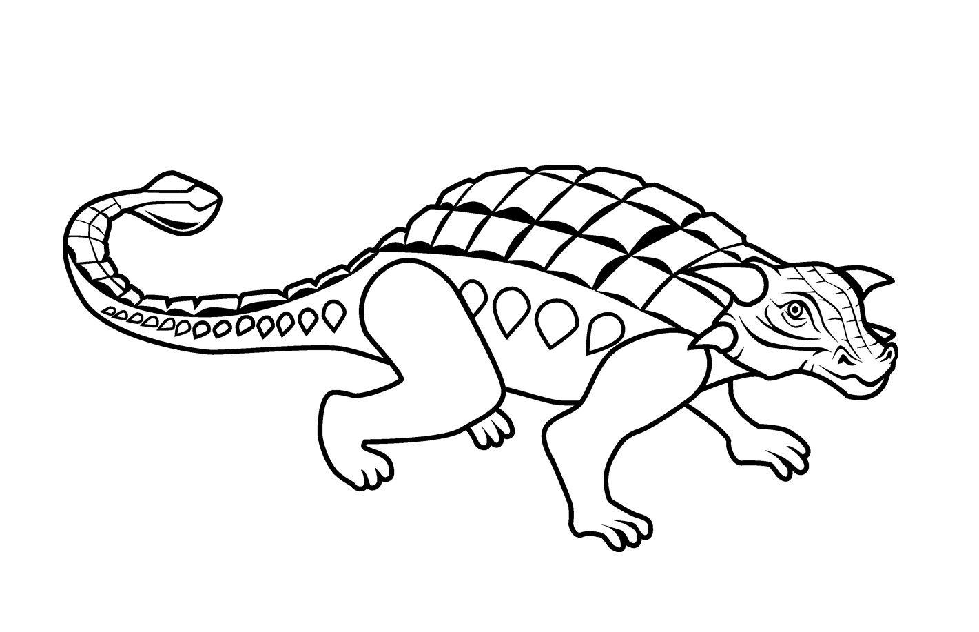 Ausmalbilder Dinosaurier Ankylosaurus : Atemberaubend Ausmalbilder Dinosaurier Ankylosaurus Ideen