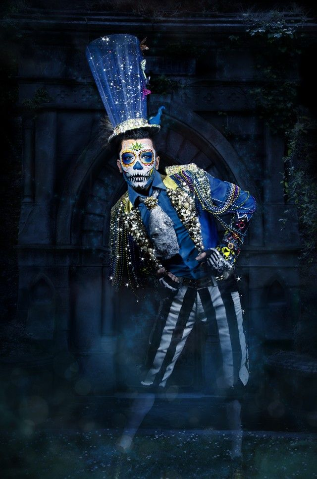 Topher Adam – Graveyard Ghost • Dark Beauty Magazine