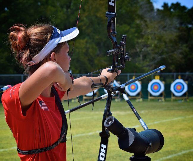 Congrats to Meghan Collins (High Springs, Florida), who qualified among the top 16 archers for the 2016 U.S. Olympic Team Trials. Meghan Collins Qualifies for U.S. Olympic Team Trials http://www.womensoutdoornews.com/2016/05/meghan-collins-qualifies-for-u-s-olympic-team-trials/ via @teamwon