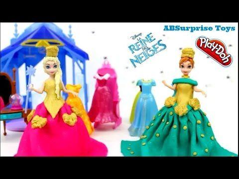 Robe Reine Des Neiges Princess Anna En Pate A Modeler