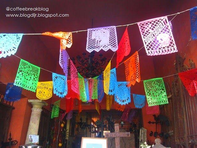 #CoffeeBreak: Los #colores y sabores del #DiadeMuertos en #Tlaquepaque #FestivaldeMuertos2014 #papelpicado #dayofthedeath #mexico