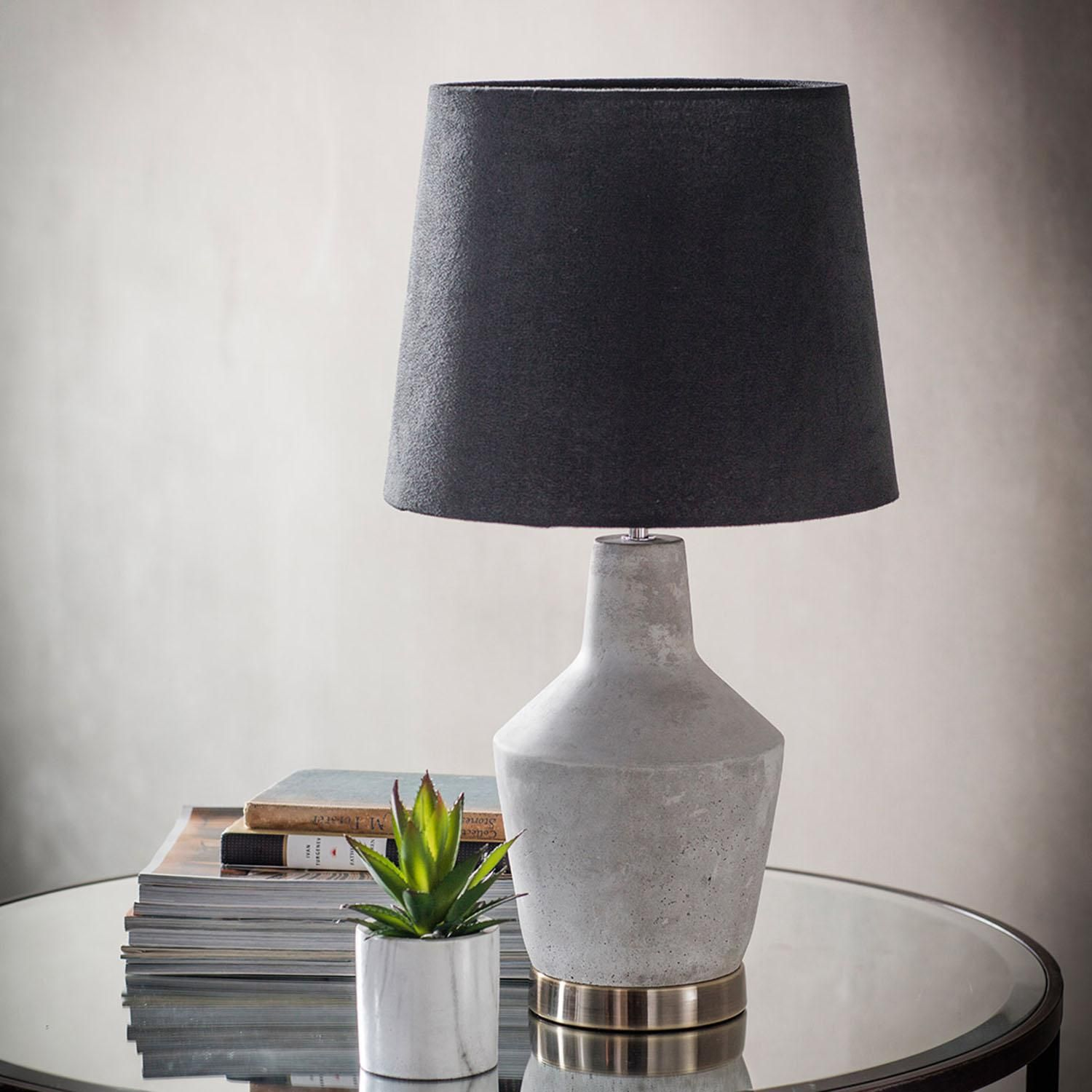 Gold Betong Table Lamp At Dunelm Table Lamp Vintage Industrial Furniture Concrete Table