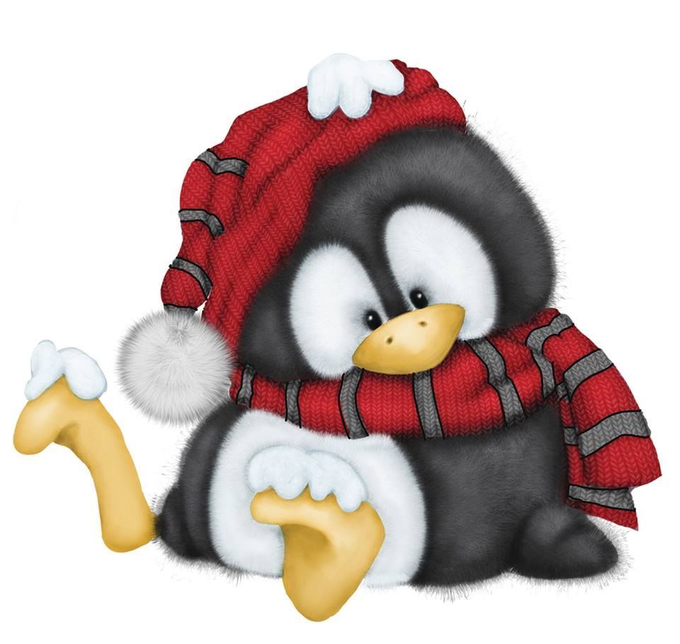 Cute animal clipart image by Lauri Langley on Christmas ...