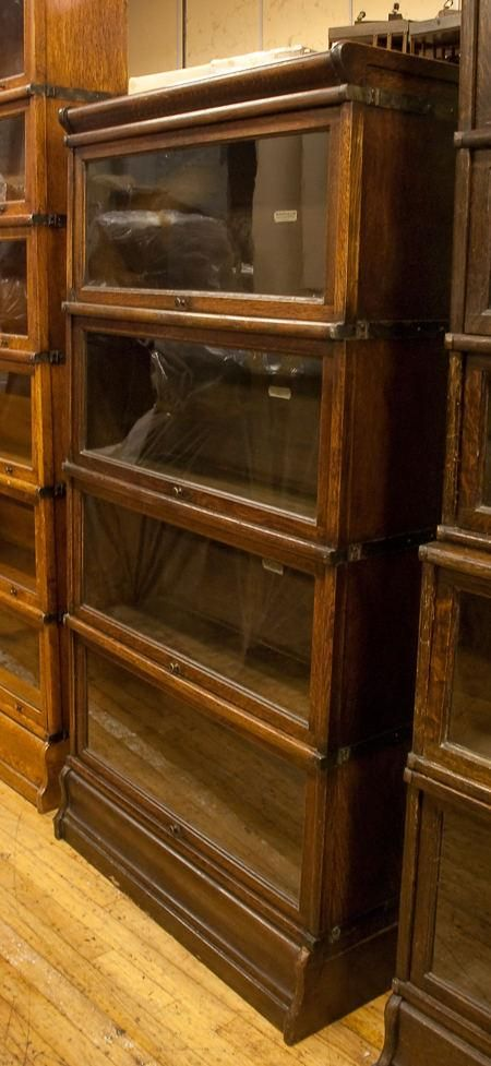 globe wernicke bookcase looks like one used in law offices