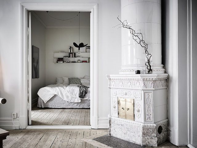 A Calm Swedish Home In Grey And White Home Simple Apartments My Scandinavian Home