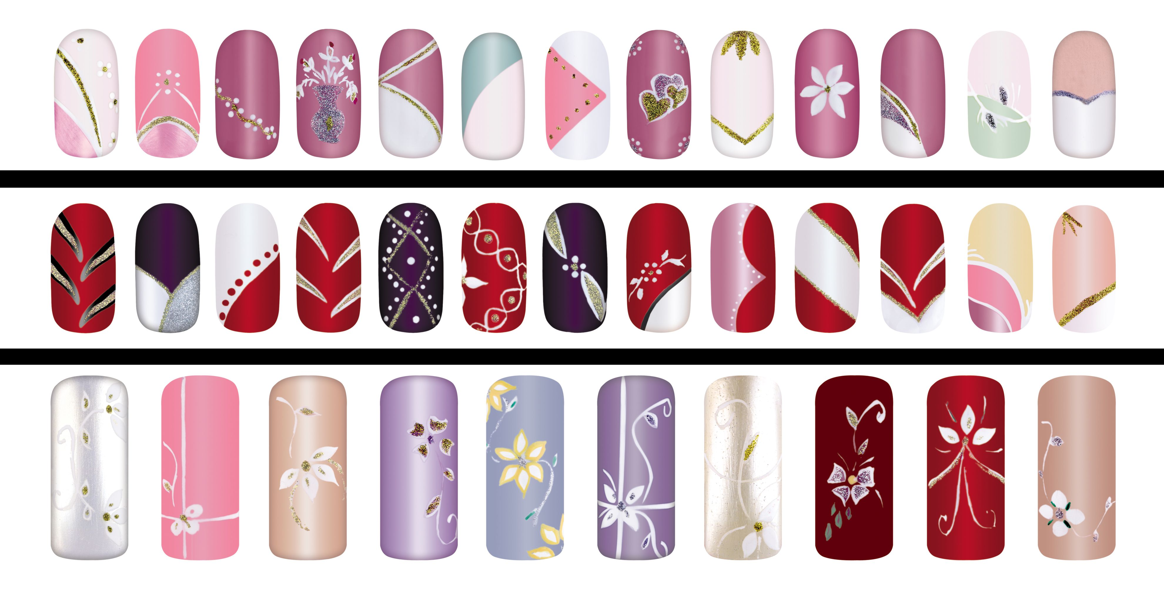 Unhas estilos variedades nails pinterest