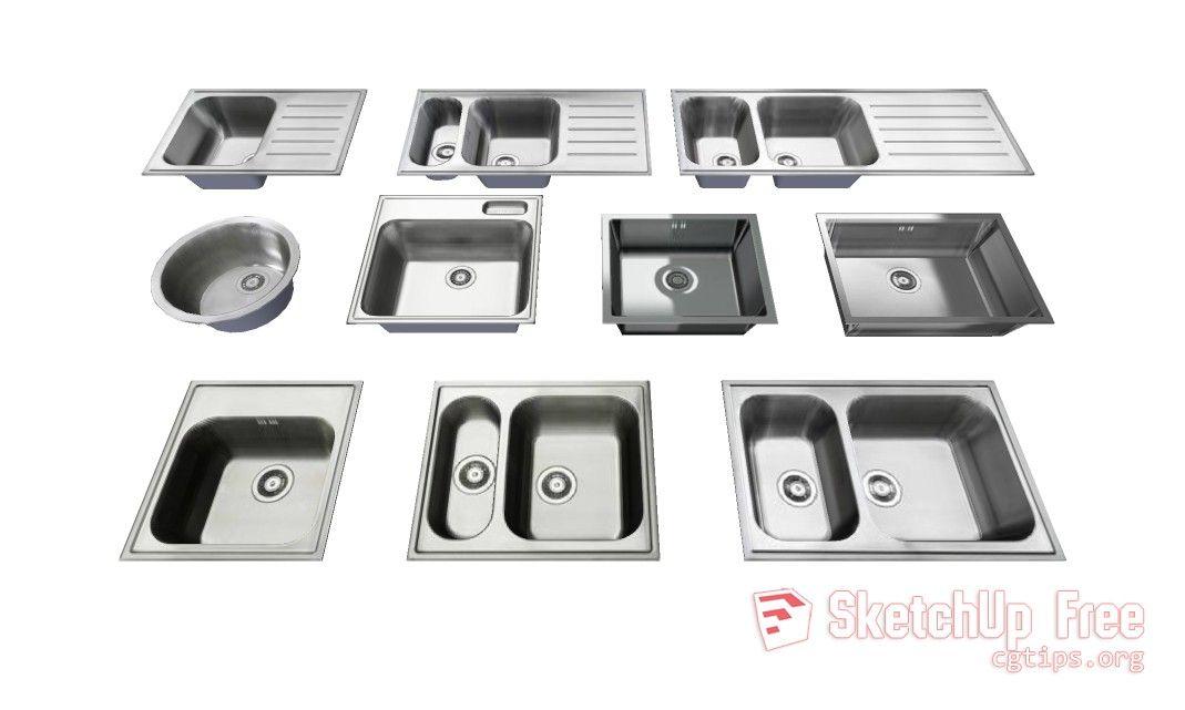 660 Sink Ikea Sketchup Model Free Download Ikea Sinks Sketchup