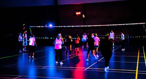 Dc Social Sports Club Pick Up Games Open Courts Glow In The Dark The Darkest Volleyball