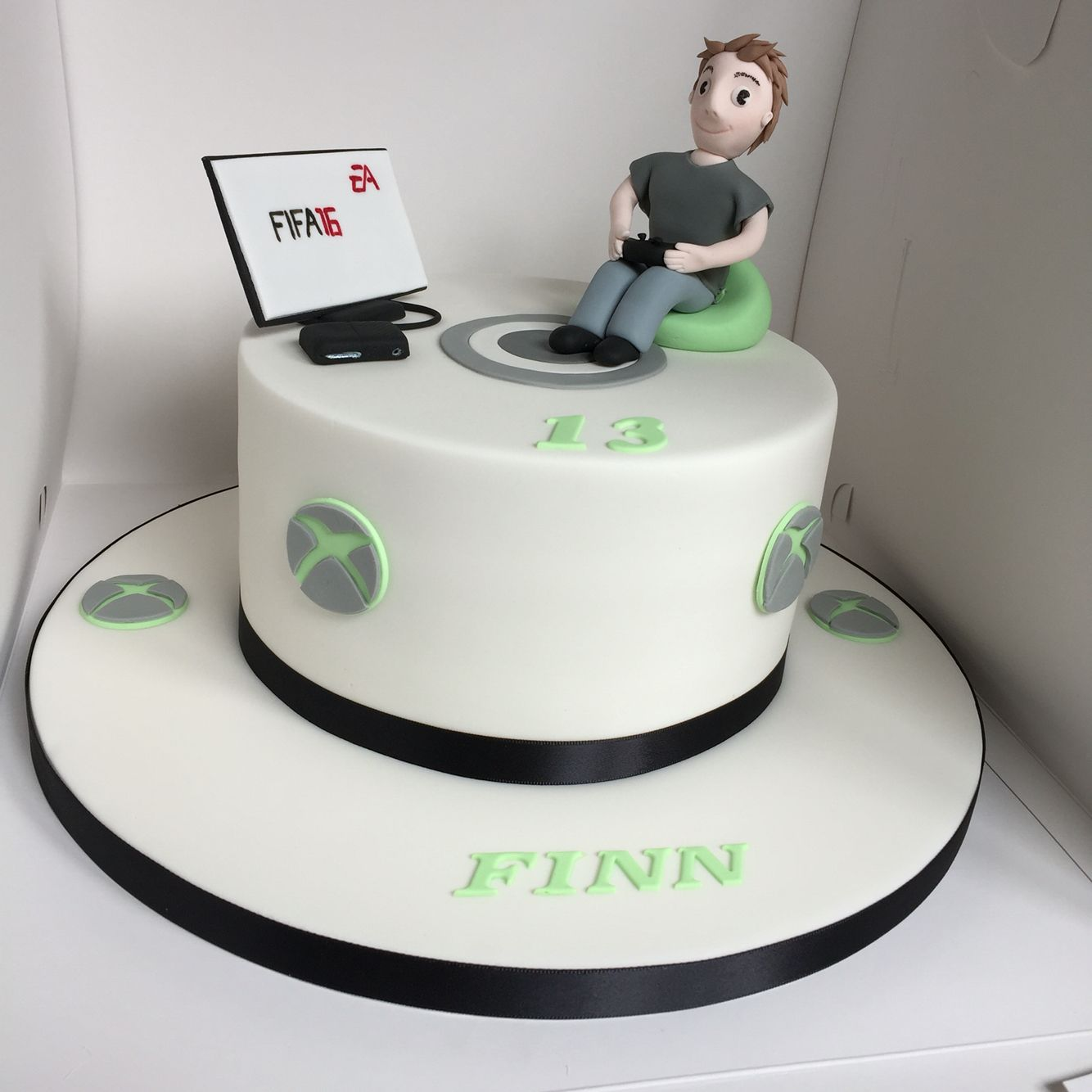 Xbox Fifa16 Birthday Cake For A Teenager Xbox Cake