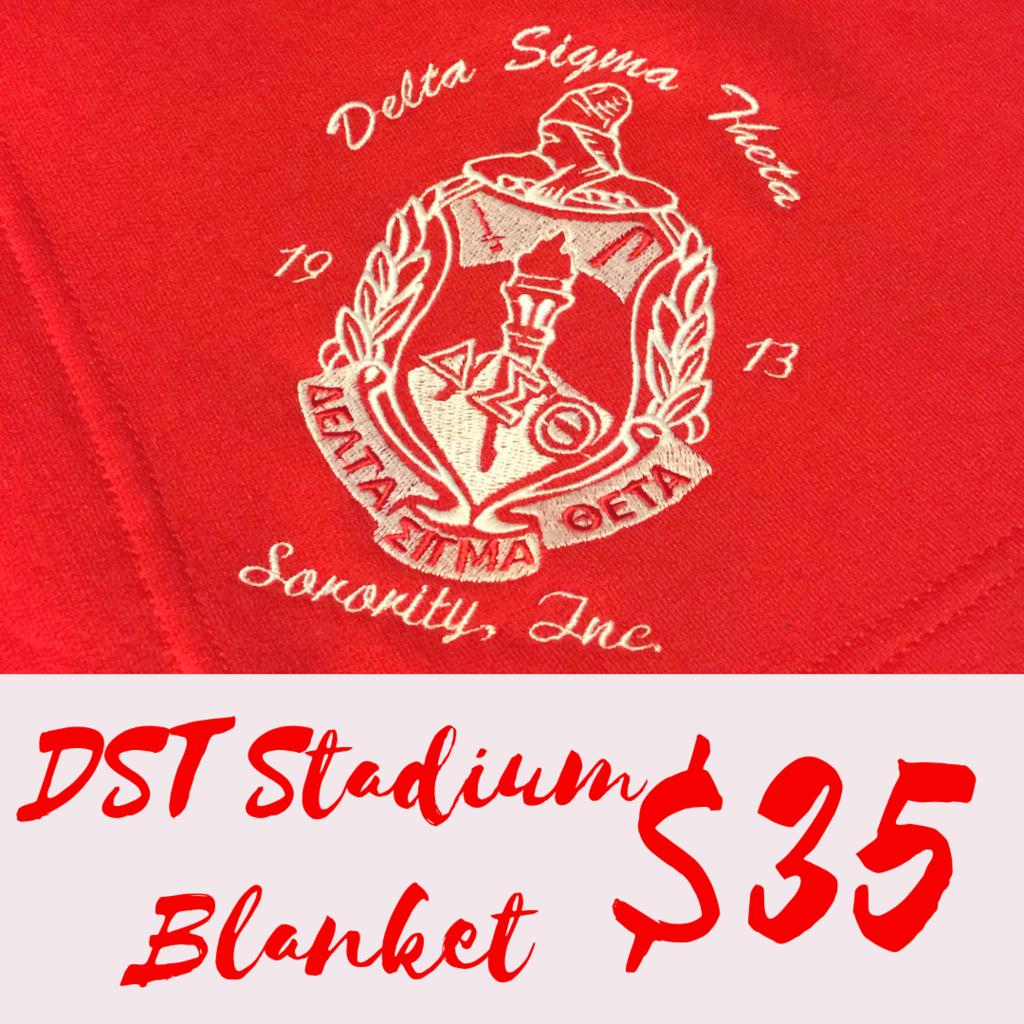 Divine 9 Stadium Blanket Delta Sigma Theta Stadium