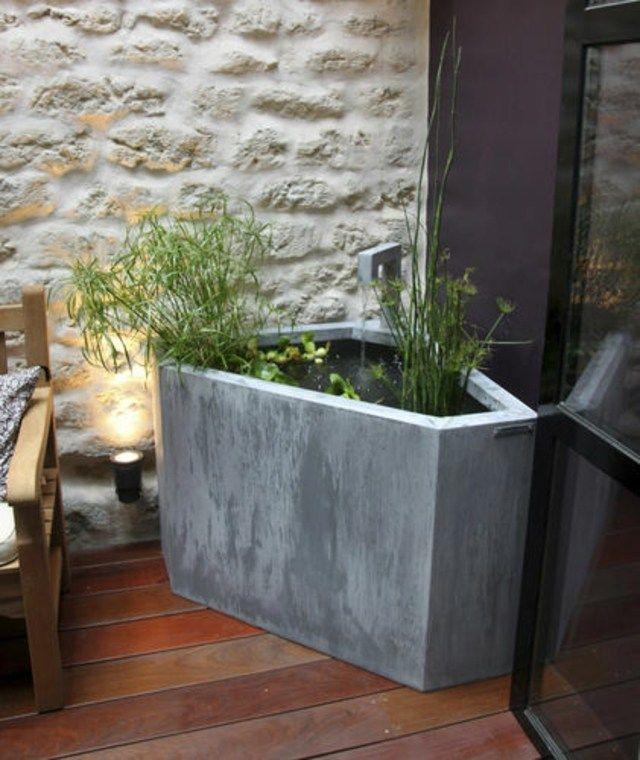 Installer une fontaine de jardin moderne   Gardens
