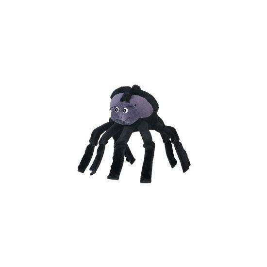Mooie pluche handpop van ongeveer 22 cm in de vorm van een spin.