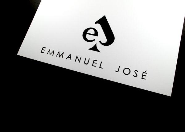 My Personal Logo by Emmanuel Jose, via Behance
