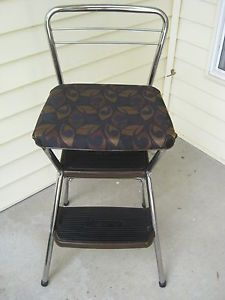 Reupholster Cosco Stool Google Search Antique Chairs Cosco