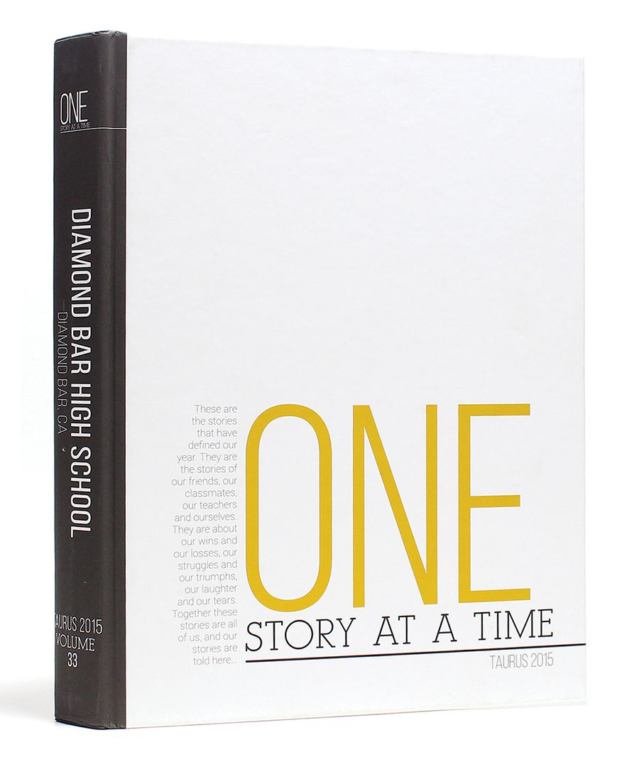 White Yearbook Cover : The cover is a first impression inspiring yearbooks