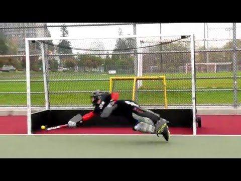 Field Hockey Goalie Footwork Side Sliding Drill Youtube Goalkeeper Training Field Hockey Goalie Goalkeeper
