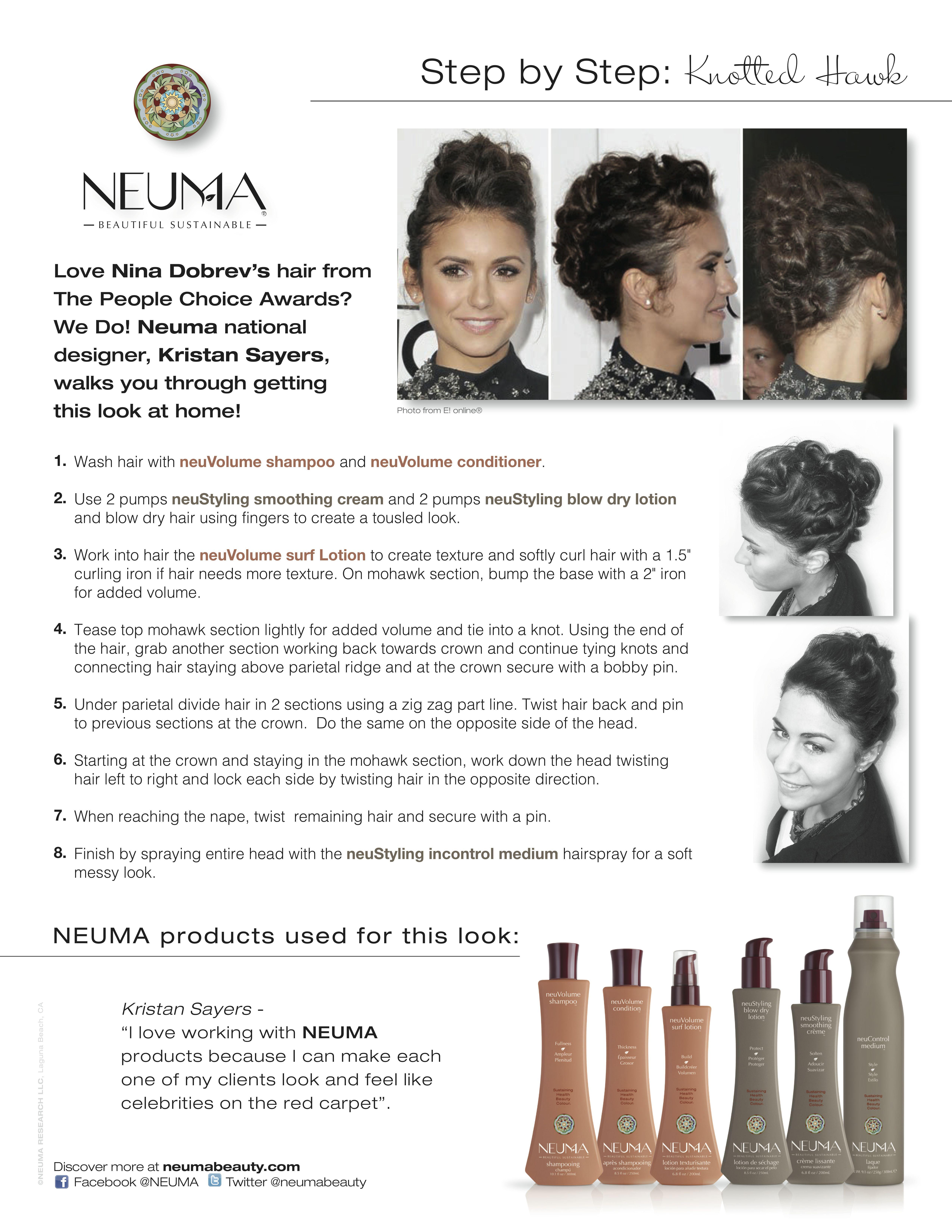 NEUMA Step by Step - Knotted Hawk