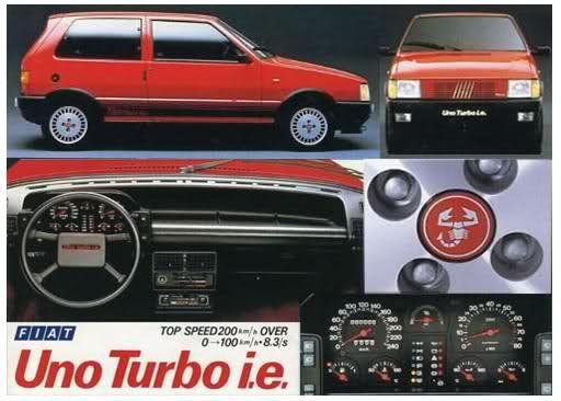 Fiat Uno Turbo Fiat Uno Fiat Fiat Abarth