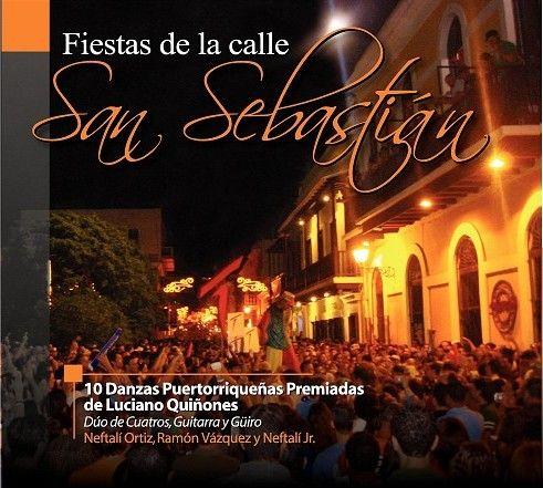 Fiestas de la calle San Sebastián : 10 danzas puertorriqueñas premiadas / Luciano Quiñones. [San Juan, Puerto Rico] : Trini Home Studio, 2008.   1 compact disc ; 12 cm Formato CD Call Number M1681 .P62 F54 2008