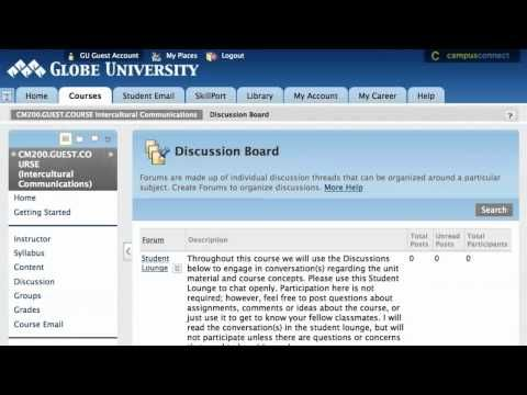 Campus Connect Overview at Globe University | GEN Teaching