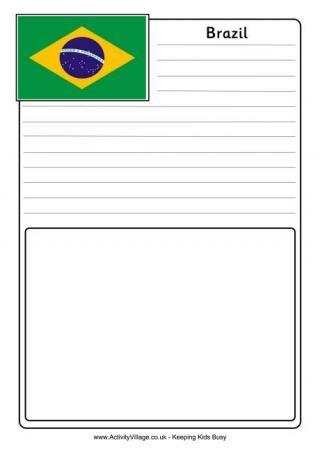 Brazil Flag Printables Brazil Business For Kids Brazil Flag