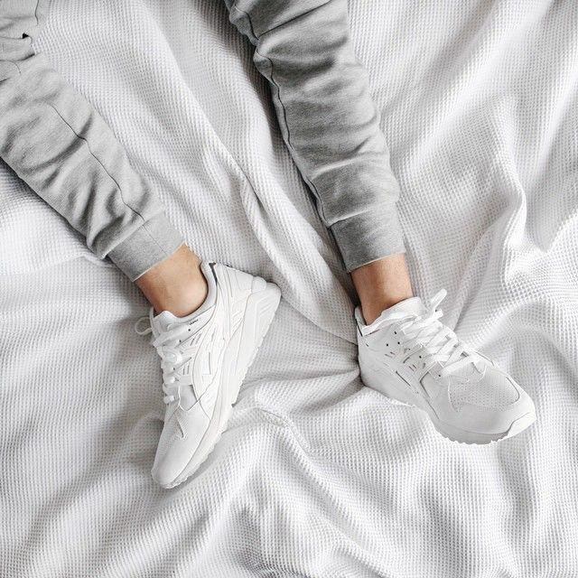 Always cozy #asics
