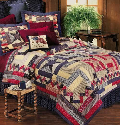 Dancing Star Quilt And Americana Bedding Discount Home