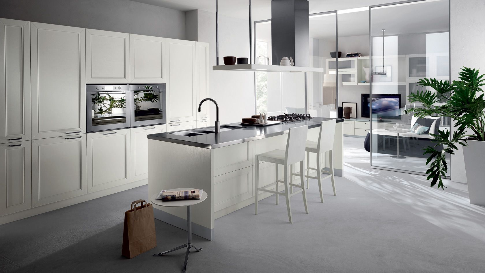 glass doors, simplicity cucina regard scavolini | kitchen, Hause ideen