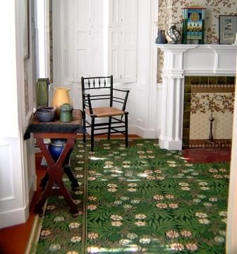 The Wreath Carpet An Early Design By William Morris Which Has Been Reproduced From