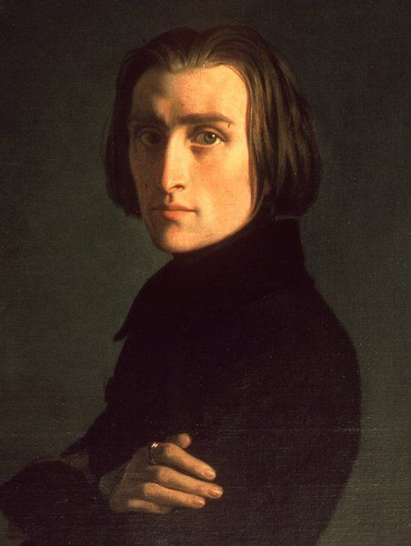 Franz Liszt 1811 1886 Not Only Was He An Amazing Composer Check Out His Missa Coronationis He Was Also A Piano Prodigy Liszt Portrait Classical Music
