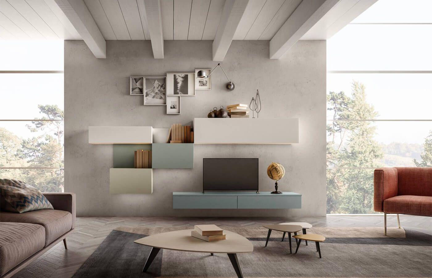 Mobile soggiorno Living 02 | Arredo3 nel 2020 | Mobili ...