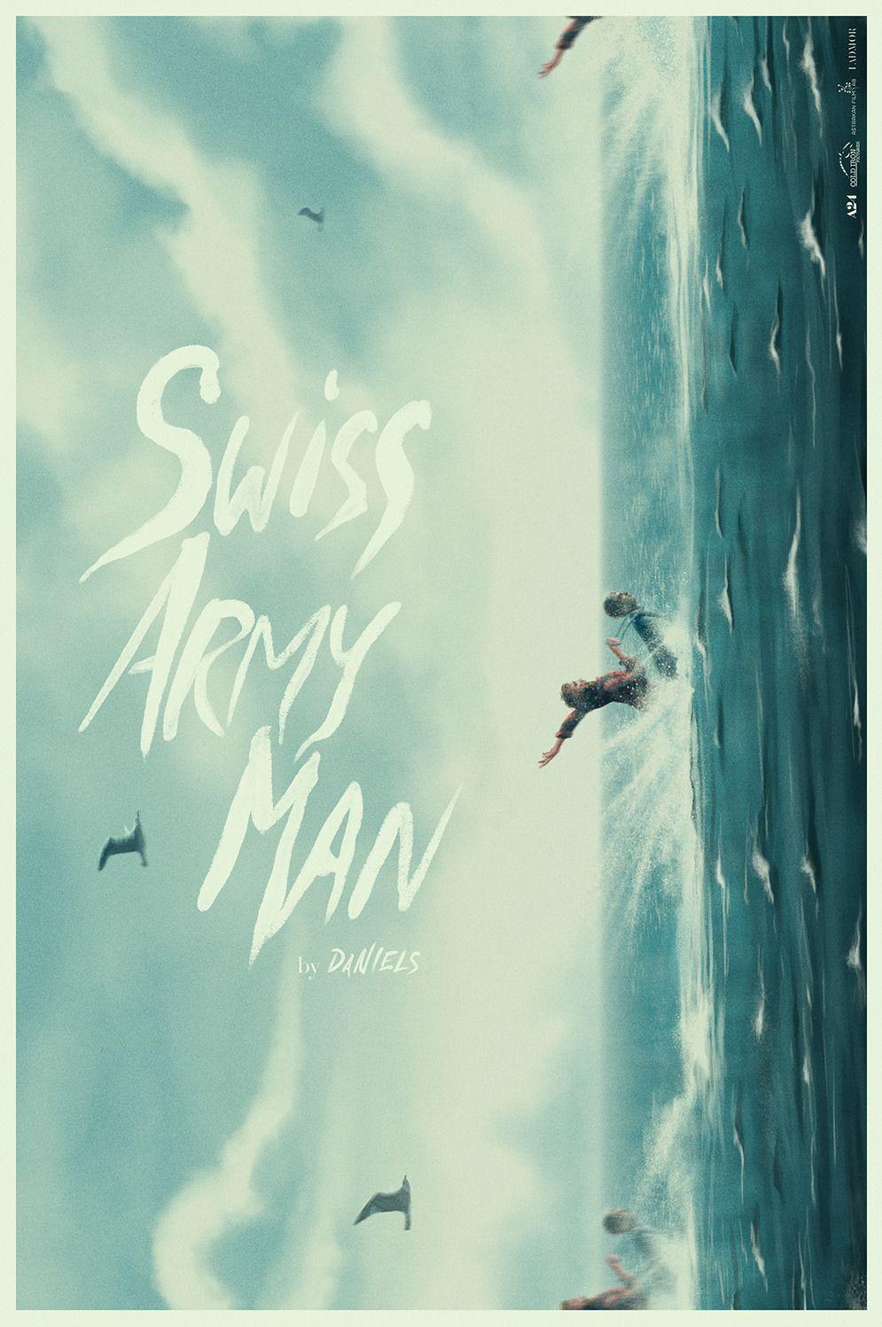 Swiss Army Man Streaming : swiss, streaming, Swiss, Pedro, Alternative, Movie, Posters,, Poster