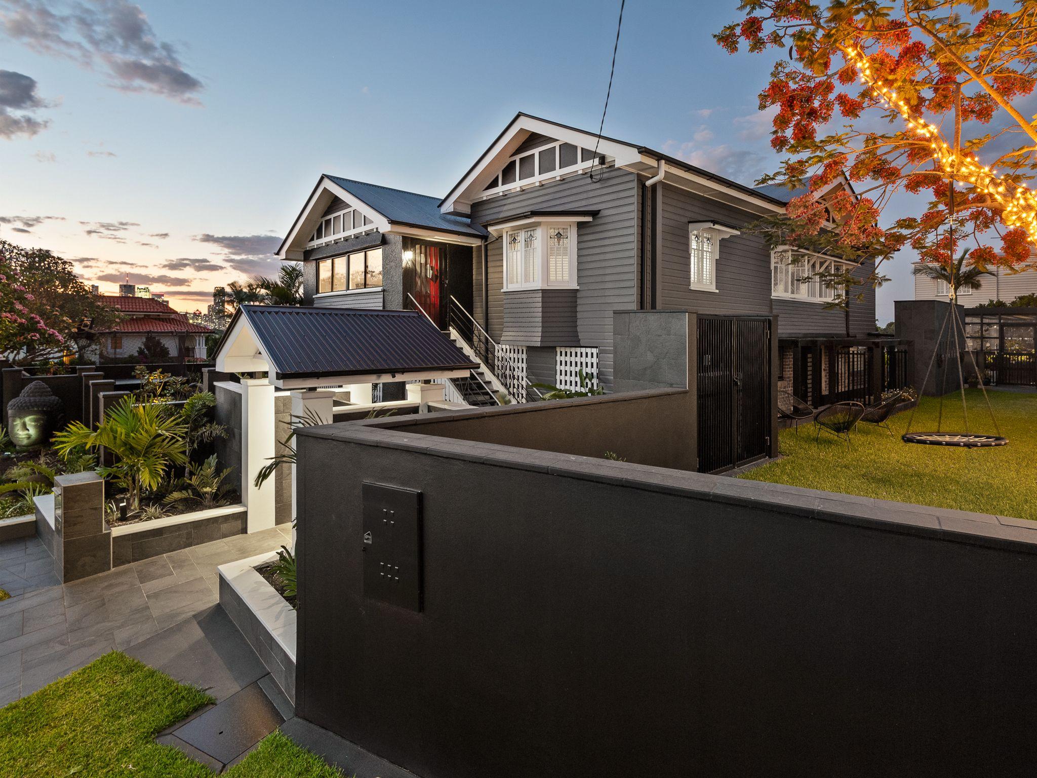 Art Deco Queenslander External & Landscape   Architecture ...