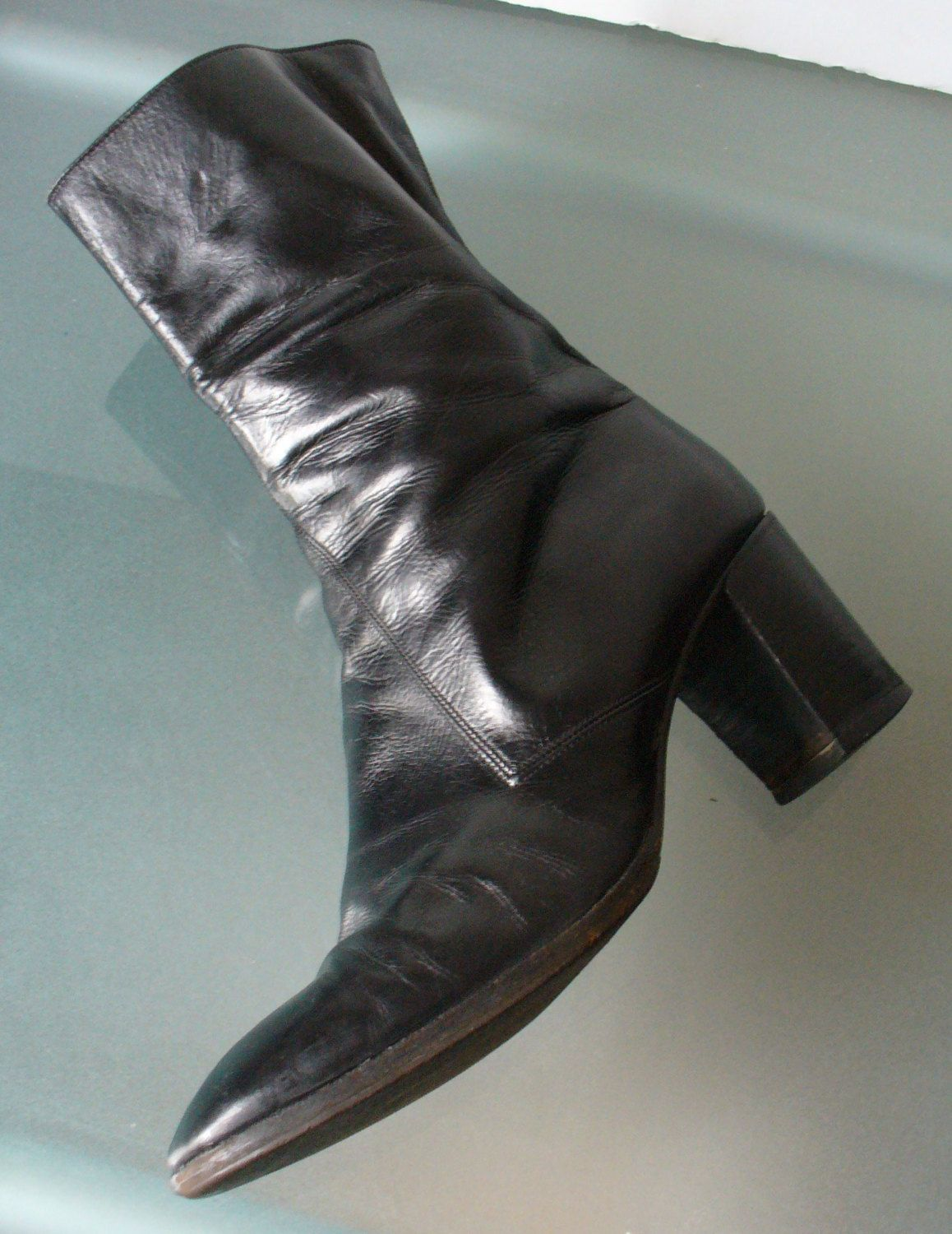 Rossetti Moda Zipper Boots Made in Italy Size 37 by