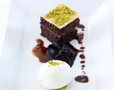 HOLIDAY FOOD GUIDE - TURKISH: Chocolate Baklava.