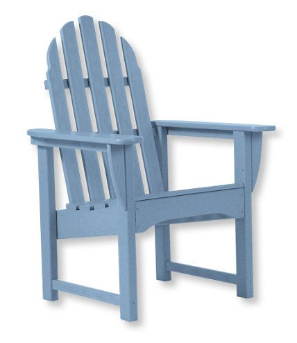 All Weather Upright Adirondack Chair: Seating At L.L.Bean