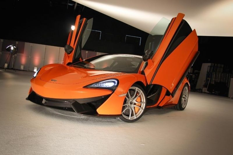 2017 McLaren P14 Replacement