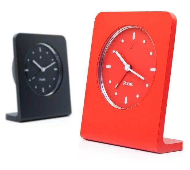 Punkt. par Jasper Morrison, le réveil design et minimaliste
