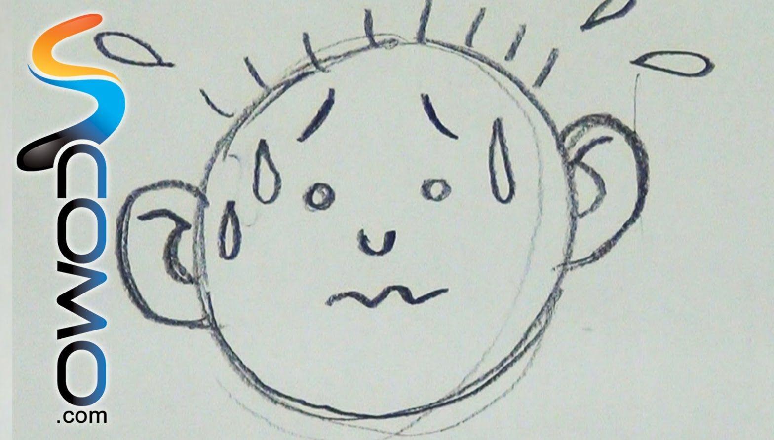 Dibujar Expresion De Miedo Draw Worry Faces Caras De Miedo Miedos Miedo
