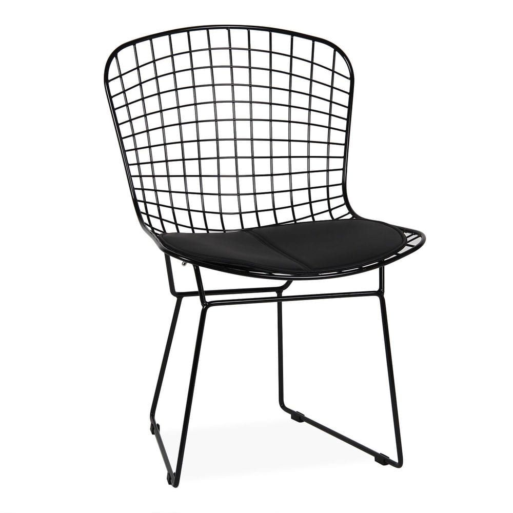 superstudio xsg023 chaise bertoia black edition - Chaise Bertoia