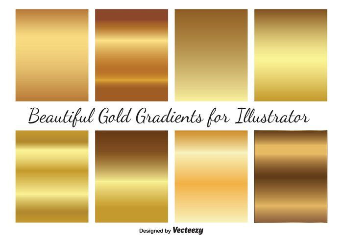 If You Are A Designer And You Want To Improve Your Design So Here In This Collection You Can Find Free P Gradient Illustrator Vector Art Design Gold Gradient
