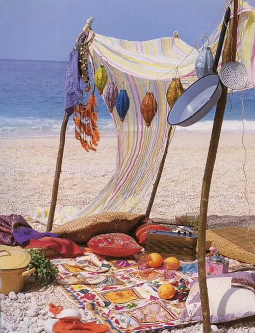 beaching it bohemian style