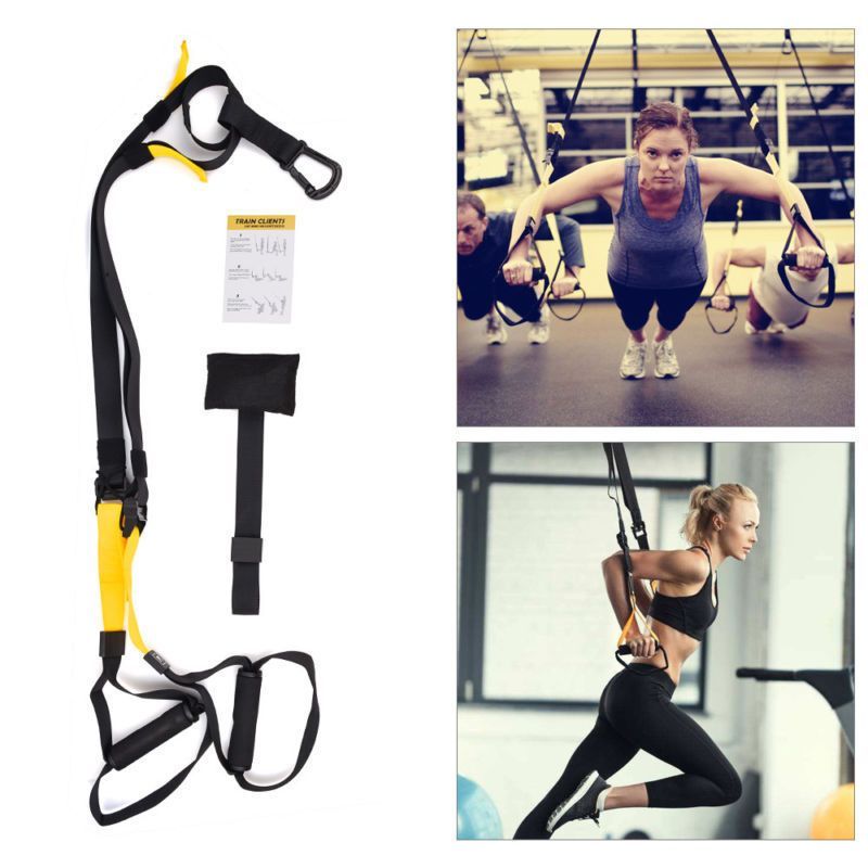 Home Equipment Suspension Strength Workout Resistance Training Exercise Strap