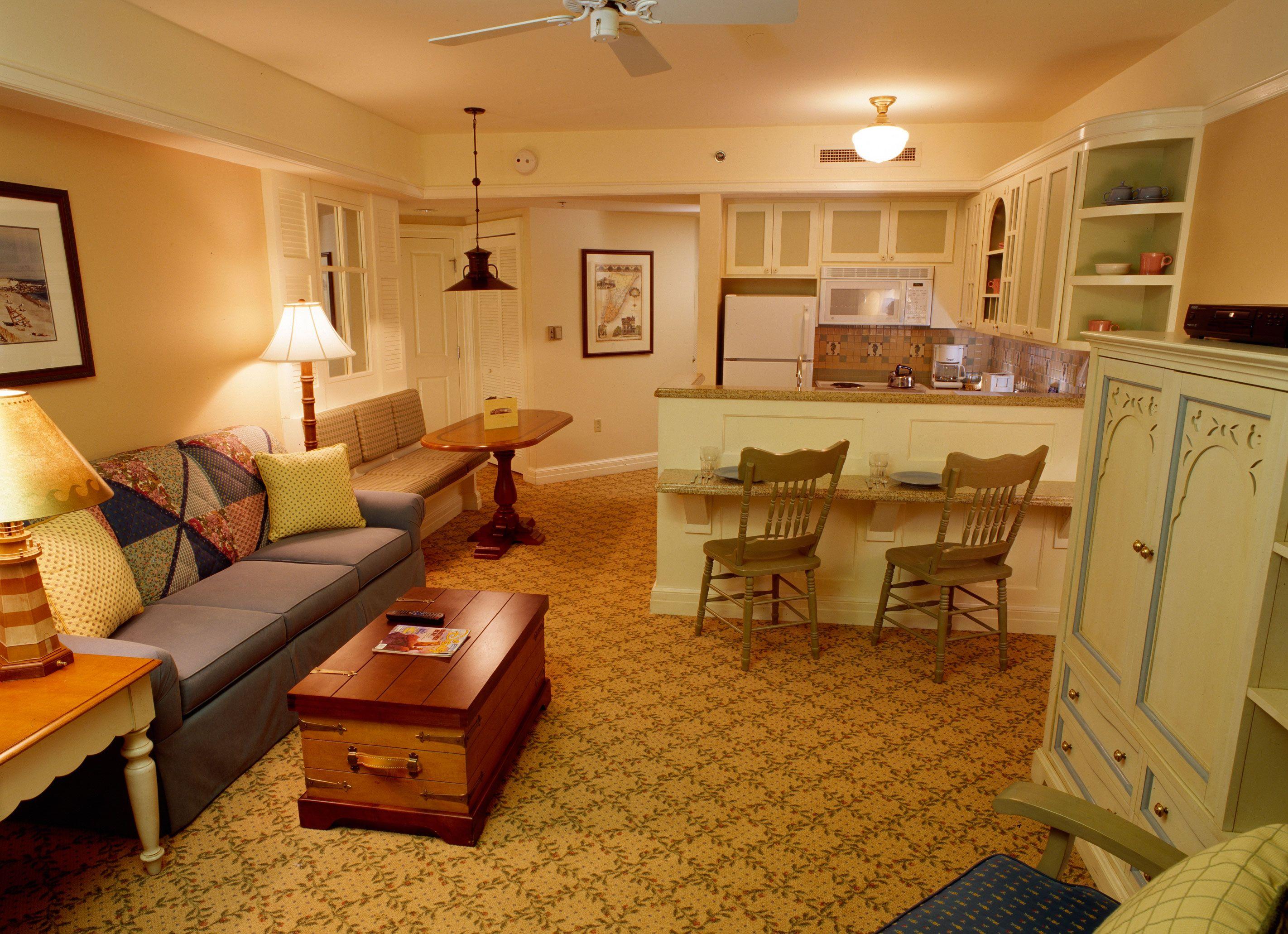 Disney Resort Hotels S Beach Club Villas Interior Walt World